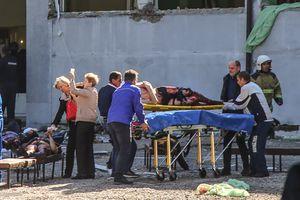 """""""Дети горят в столовой"""": медсестра рассказала, что происходило после взрыва в колледже"""