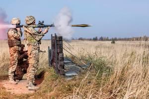 Украинские военные показали американцам, как бить из гранатомета, опубликованы жизненные фото
