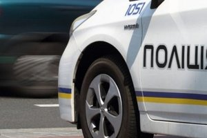 В Запорожье погоню за мотоциклистом устроили сразу три наряда полиции
