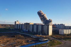 На заводе в России прогремел мощный взрыв