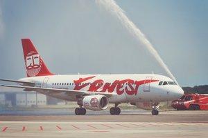 Ernest Airlines открыла рейс Киев-Рим