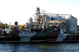 Отремонтирован самый большой корабль охраны на Азовском море