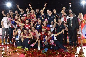 Сборная Сербии впервые стала чемпионом мира по волейболу