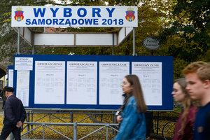На муниципальных выборах в Польше лидирует партия Качиньского
