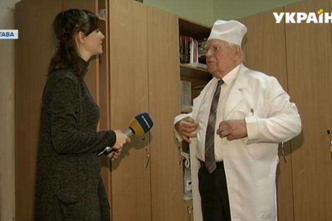 Картинки по запросу В Полтаве работает 99-летний врач фото