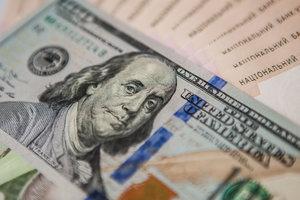 Нацбанк укрепил гривню к доллару