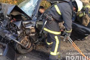 ДТП в Одессе: ВАЗ напополам и пять машин в одной аварии