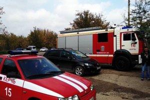 В Керчи возле политехнического колледжа произошел взрыв