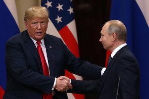 Трамп заявил о возможной встрече с Путиным в ноябре в Париже