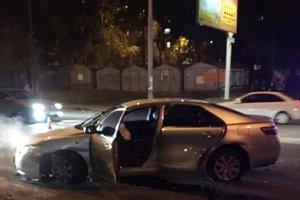 На Теремках пьяный водитель Toyota устроил ДТП и гонки с патрульными