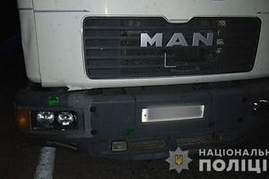 В Харькове грузовик насмерть сбил мужчину