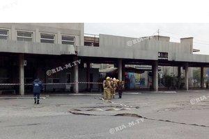 На вокзале Мелитополя произошел взрыв: появились фото и видео