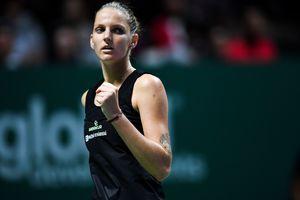 Плишкова стала первой полуфиналисткой Итогового турнира WTA
