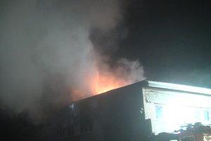 Крупный пожар под Харьковом: вспыхнул цех предприятия, появились фото и видео