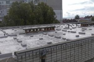 В Бердянске после дождя затопило школу