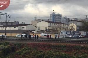 На Демеевке в Киеве мужчина попал под поезд