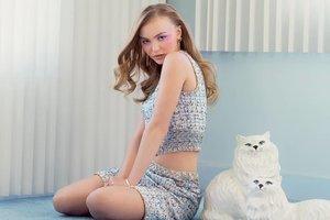 Дочь Джони Деппа разделась для модного глянца