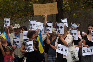 Путин, освободи Сенцова: москвичи поддержали политзаключенных украинцев