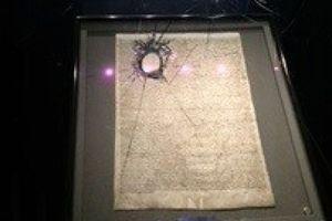 Из собора в Солсбери злоумышленник пытался украсть Великую хартию вольностей