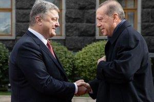 Эрдоган пригласил Порошенко в Турцию