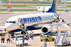 """Ryanair запускает перелеты из """"Борисполя"""" в шесть европейских городов"""