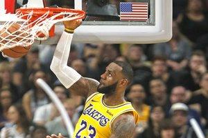 Леброн Джеймс вышел на шестое место в НБА по набранным очкам