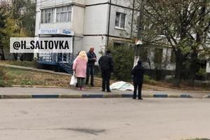 В Харькове посреди улицы умер мужчина