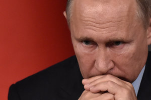 Российский оппозиционер: Грозные заявления Путина - это пустой блеф