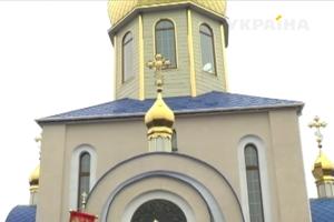 В Сумской области люди своими силами построили церковь