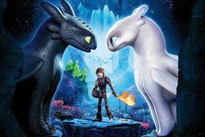 """Любовь, война и полеты: появился впечатляющий трейлер мультфильма """"Как приручить дракона 3"""""""