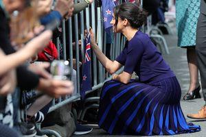 Меган снова в синем, а Гарри обнимал собак: последний день в Новой Зеландии
