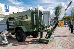 В Украине испытали новый мобильный миномет: опубликованы фото, видео