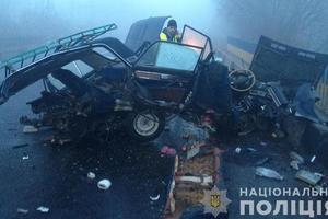 ДТП возле Тернополя: машину разорвало пополам, но водитель выжил