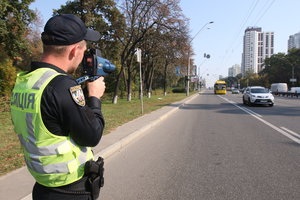 В Киеве с 1 ноября вновь запрещено ездить со скоростью 80 км/ч