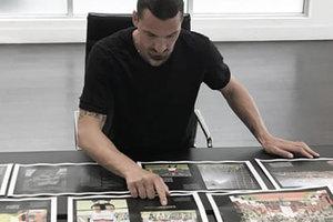 Футболист Златан Ибрагимович написал вторую книгу о себе
