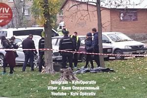 На Харьковском шоссе в Киеве нашли тело мужчины