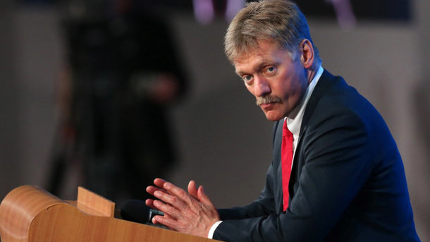 Dmitry Peskov. Photo: AFP