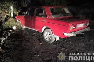 Под Запорожьем пьяный мужчина угнал машину и устроил на ней ДТП