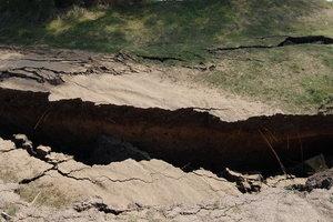 В Одессе предупредили об угрозе оползня на побережье