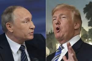 В Кремле анонсировали две встречи Путина и Трампа