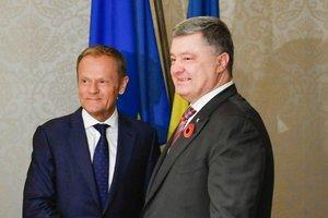 Названа дата встречи Порошенко и Туска в Хельсинки