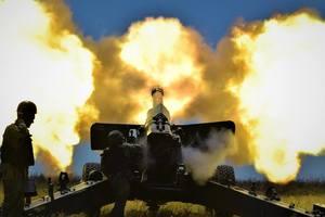 19 уничтоженных и 28 раненых: офицер ВСУ показал удар по позициям боевиков