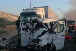 Новое жуткое ДТП в Израиле: шестеро погибших