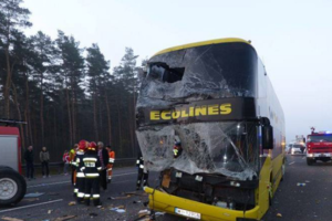 ДТП автобуса на юге Польши: украинцев среди пострадавших нет