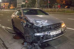 В ДТП в центре Киева попал дипломат из Греции