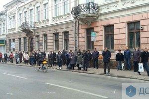 В Тернополе транспортный коллапс: водители маршруток бойкотируют работу
