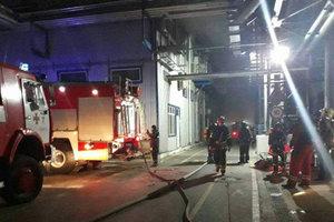 Масштабный пожар под Одессой: к месту ЧП отправлены два пожарных поезда