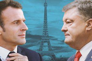 Визит Порошенко во Францию: все, что нужно знать о встрече с Макроном