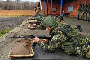 Как  новобранцы во Львовской области учились стрелять: фото
