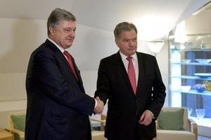 Порошенко встретился с президентом Финляндии: стало известно, о чем говорили